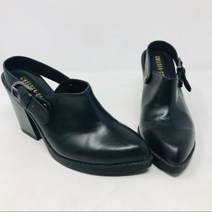 Chelsea Crew ModCloth Black Leather Shoes